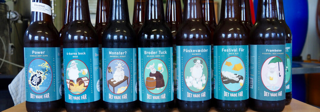 ølsmagning øl fra det våde får et gårdbryggeri