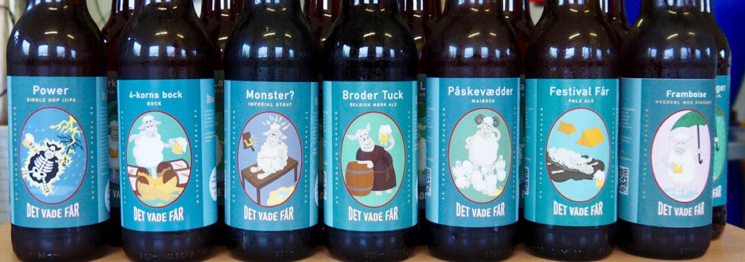ølbeskrivelser på øl fra det våde får