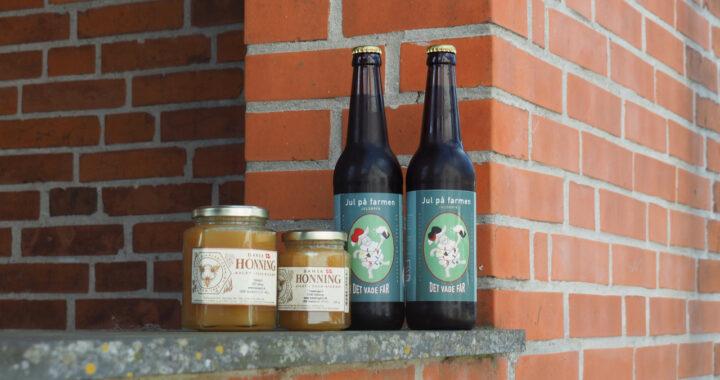 det våde får honning ølkage juleøl opskrift