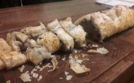 indbagt mørbrad oksekød lammekød tolykkegård opskrift