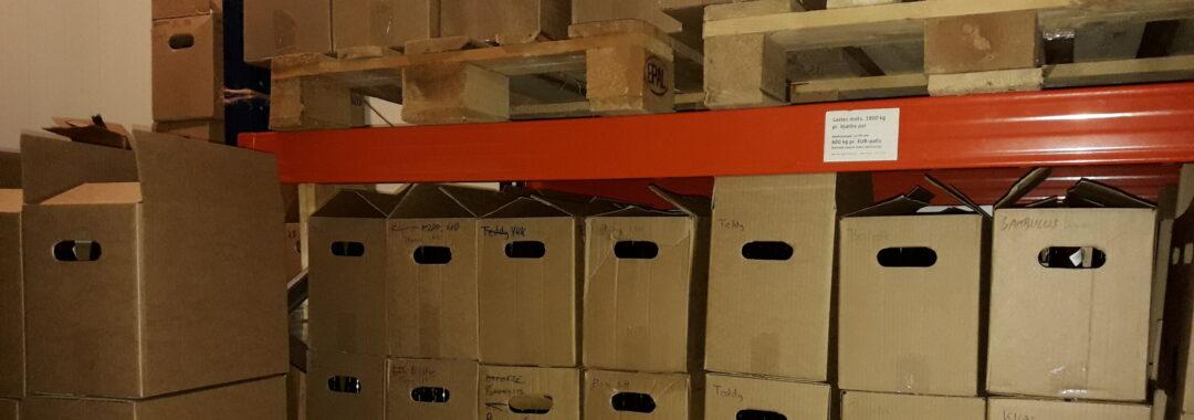 Kasser på lager